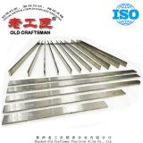 Tiras de carboneto cementado de tungsténio para ferramentas de corte