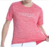 2018 Venta caliente seco de nuevo colocar Polyester Spandex trabajo Deportes camisetas con impresión personalizada