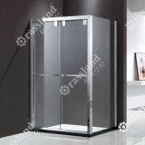 Doccia di lusso della stanza da bagno di vetro di scivolamento della qualità superiore 304SUS di prezzi all'ingrosso della fabbrica di Zhongshan Cina