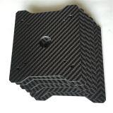 Strato lavorante su ordinazione della fibra del carbonio di CNC per il modello del giocattolo di RC