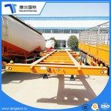 3 мост 40-футовом контейнере скелетной грузового прицепа