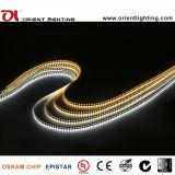 cUL 2700K SMD1210 120LEDs/M, indicatore luminoso di striscia impermeabile di 9.6W/M IP65 LED