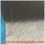 Tapete costurados em fibra de carbono com o véu de perfil condutivo
