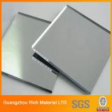 Серебристый наружного зеркала заднего вида плексигласа платы/PMMA акриловый лист пластика наружных зеркал заднего вида