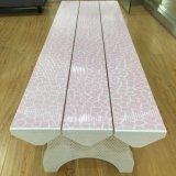 Новый цвет красивого розового цвета пластиковых долго стиль внутри или вне помещений на стенде