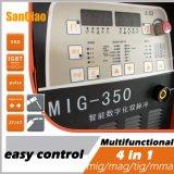 倍パルス産業使用のデジタルパネルの二酸化炭素MIG Mag MMAの溶接機(MIG-350)