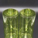 パーソナルケアの製品のための透過緑シリンダーローションのびん