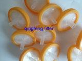 Pes Syringer filtre avec de l'emballage de stérilisation indépendant