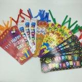OEM 4c печать оформление День Рождения открытки