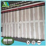 Materiais de construção à prova de cimento da placa na parede do tipo sanduíche de EPS para Villa/Hotel/hospital/Shoppingmall