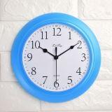 La ronda de la moda de plástico grande Reloj de pared de lujo