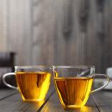 コーヒー鍋水ビールまたはジュースのための二重壁の飲むガラスの熱タンブラーのコップ