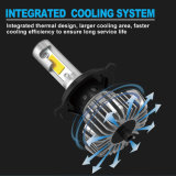 Super brillante S2 S9 8000LM 24V sin ventilador COB Faro de automóvil Hb3 H4 H7 Kit de lámpara de faro LED Auto