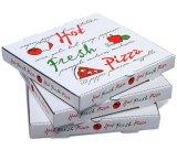 Estabilidad y durabilidad Lock-Corner cajas de pizza (PIZZA-004)