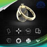 Nuevo diseño anillo de dedo de metal giratoria soporte para teléfono móvil de forma de ver Soporte Soporte Soporte de teléfono celular