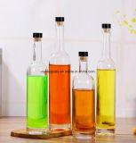 Qualitäts-maschinell hergestellte freie Glaswein-Flaschen für Champagne-Alkohol-Wodka-Whisky