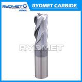 4 ребра сплошной конец карбид вольфрама мельницы для резки металла