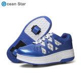 Roue de rouleau de lumière clignotante Chaussures Shoes Heelys chaussures