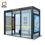 La energía solar la parada del autobús Bus Bus de sistema de publicidad de la vivienda Caja de luz