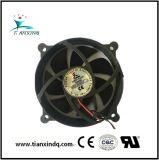 92*25mm do rolamento da luva de arrefecimento sem escovas suporte pequeno ventilador axial DC