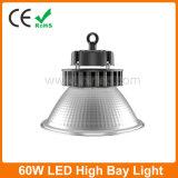 Dispositif d'éclairage LED haute Bay 60W pour l'entrepôt et un supermarché