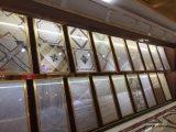 Granos de piedra de cerámica baldosas pulidas en China