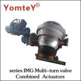 Attuatore Combinato Con Valvola Serie Img Multi-Turn Appositamente Progettato