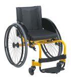 Sedia a rotelle manuale di corsa e di sport