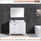 Горячая продажа цельной древесины современная ванная комната кабинет T W9199-48в левом противосолнечном козырьке