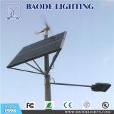BaodeはSasoの証明書が付いている屋外の5m 24-40W LEDの太陽街灯をつける