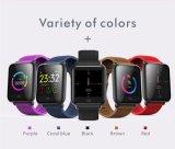 Q9 een Intelligent Slim Horloge van de Fitness van de Sport van de Kleur Bluetooth Slim