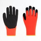 Het katoen of de Polyester breit de Antistatische Werkende Handschoen van de Deklaag van het Latex