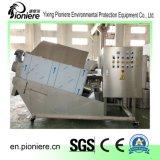 De Ontwaterende Machine van de Modder van het Visproduct voor de Installatie van de Behandeling van het Water van het Afval