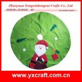 Décoration de Noël (ZY14Y640 42 '') Jupe en sapin Décoration Jupe personnalisée