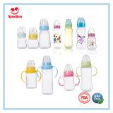 MiniMilchflasche des baby-60ml mit führendem Nippel