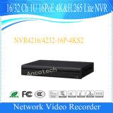 CCTV NVR 32CH (NVR4232-16P-4KS2) di obbligazione di Dahua 16poe 4K&H. 265 Lite