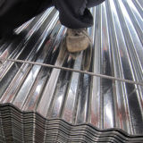 Strato d'acciaio galvanizzato ondulato tuffato caldo del tetto di JIS G3302 SGCC
