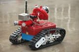 Robot de combate de incendios para grandes áreas de Petroquímica