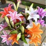 Fiore artificiale della seta artificiale dei dell'impianto dell'alta decorazione domestica d'imitazione