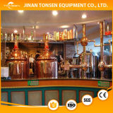 Equipo de la fabricación de la cerveza del acero inoxidable con la cervecería de dos vasos