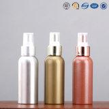Alta qualidade 15ml 30ml, 50ml, 100ml, 150ml Garrafa de loção de spray de metal e cosméticos de alumínio