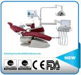 Amplio sillón dental con movimiento sincronizado