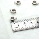 Acessórios simples dos grânulos dos encantos cabidos para colares dos braceletes de DIY