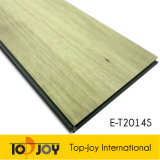 Antideslizante resistente de la serie de madera suelos de vinilo haga clic en
