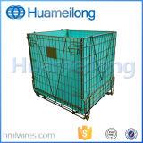 Galvanizzato impilando il contenitore della rete metallica del pallet della bottiglia dell'animale domestico
