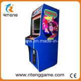 販売のための直立したゲーム・マシンを立てるろばのKongのアーケード