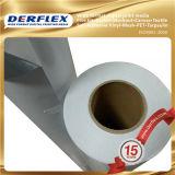 Freies Beispielrollenmaterielles Weiß Belüftung-selbstklebendes Vinyl für Digital-Drucken