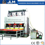 La macchina calda della pressa della melammina automatica per il compensato e la scheda del MDF