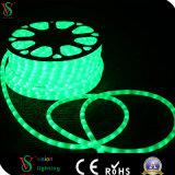 Luz lechosa de la decoración de la Navidad de la luz de la cuerda de 2 alambres LED