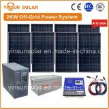 2000W off-grid Sistema de Energia solar para a Energia Solar Residencial sistema PV